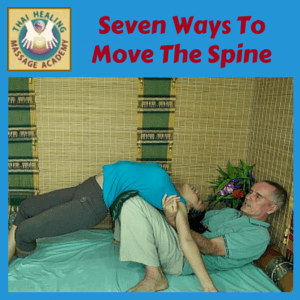 7 Ways To Move The Spine Thai Massage course logo