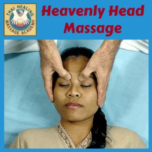 Heavenly Head Massage course logo