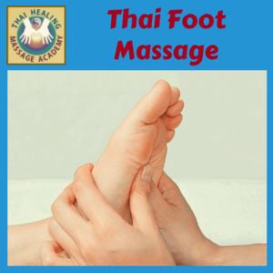 Thai Foot Massage course logo