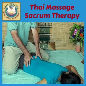 Thai Massage Sacrum Therapy course logo