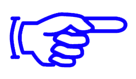 hand with extended finger