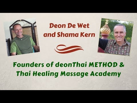Two Thai Massage Teachers Meet in Thailand