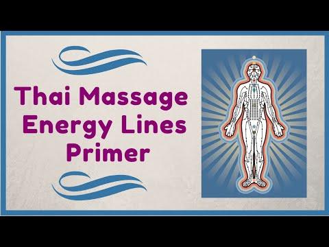 Thai Massage Energy Lines Essential Knowledge