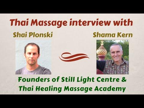Thai Massage Interview With Shama Kern And Shai Plonski