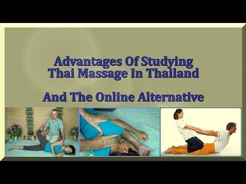 Study Thai Massage In Thailand And An Online Alternative