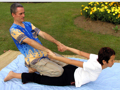 Thai Massage in the park