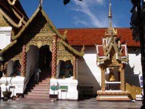 Doi Suthep temple Chiang Mai Thailand