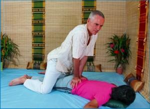 Thai Massage sacrum work
