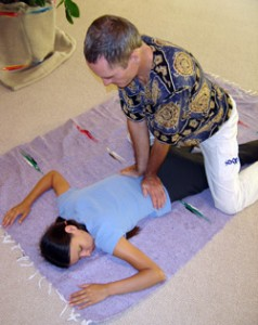 image of Thai Massage back work