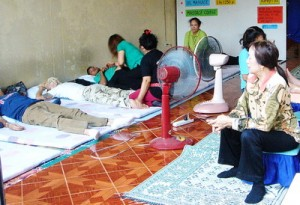 image of Simple Thai Massage Shop in Thailand