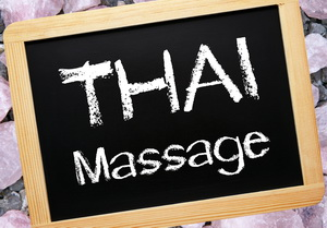 Thai Massage sign