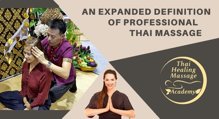 what is a professional Thai Thai Massage therapist