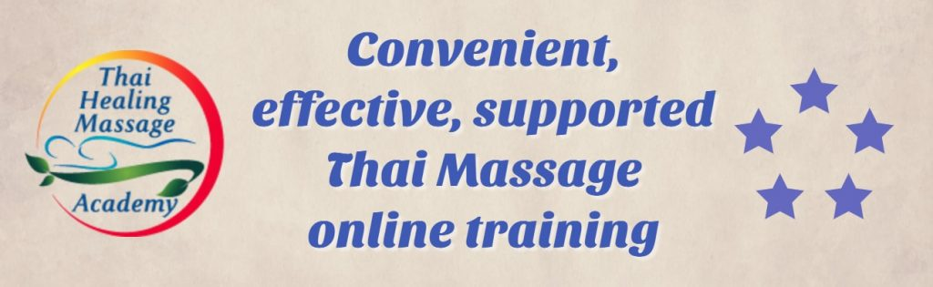 convenient, effective thail massage online training