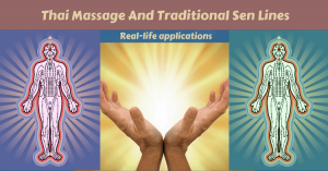 Thai Massage and traditional sen lines