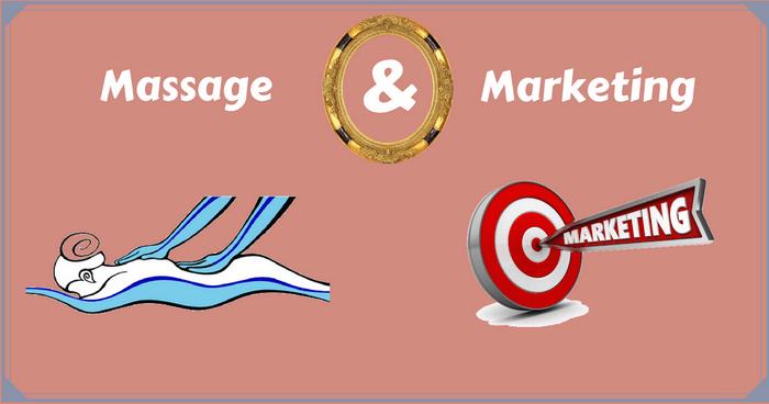massage and marketing
