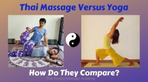 thai massage versus yoga