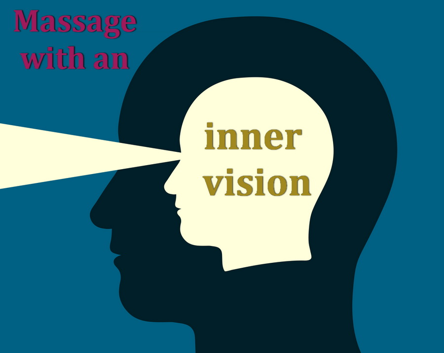 massage with an inner vision