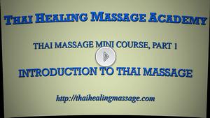 Thai Massage mini course1