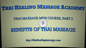 Thai Massage mini course 2