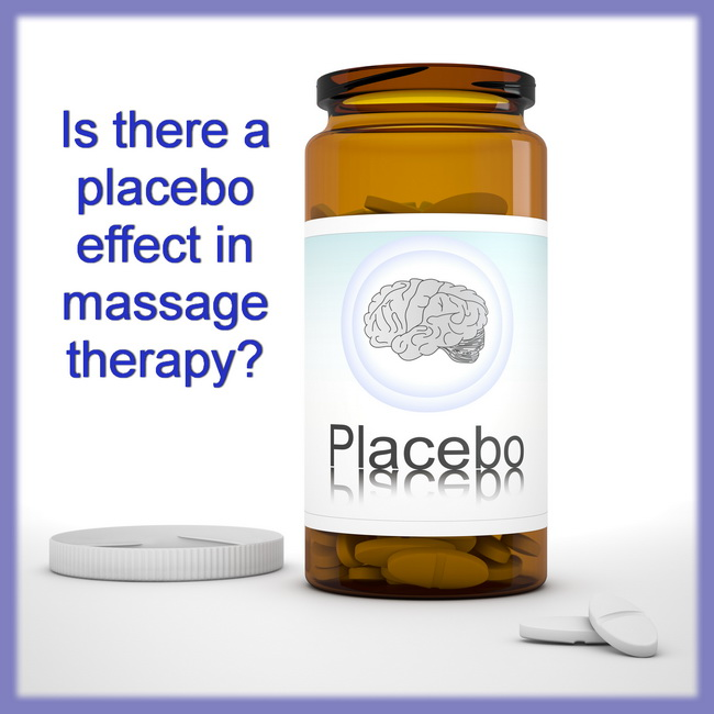 placebo effect in massage