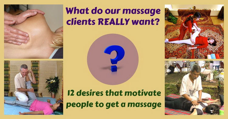 12 reasons why people get massage