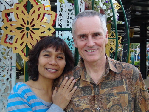 Shama Kern and his wife