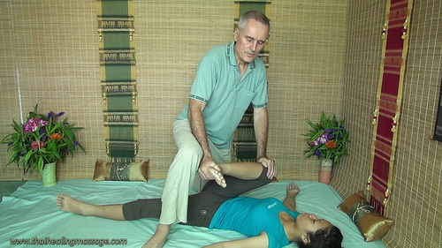 Thai Massage For Sciatica session