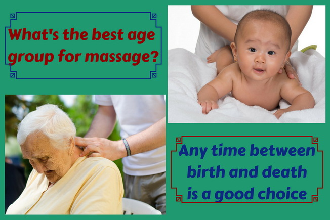 best age group for massage