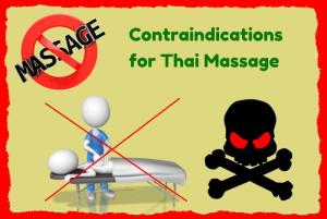 Contraindications for Thai Massage