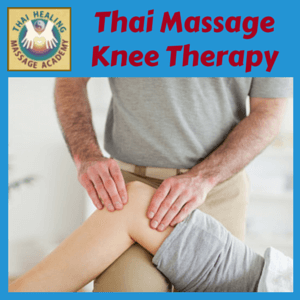 Thai Massage Knee Therapy course logo