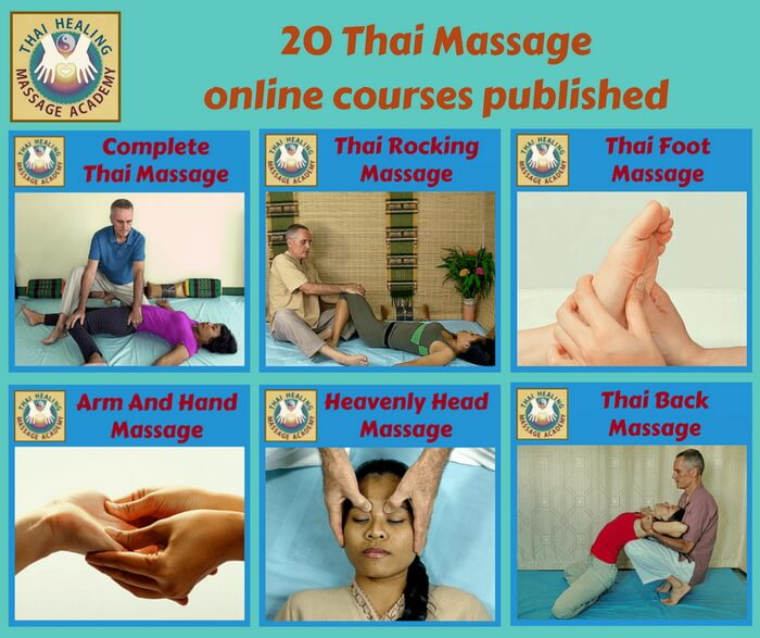 20 Thai Massage online courses published