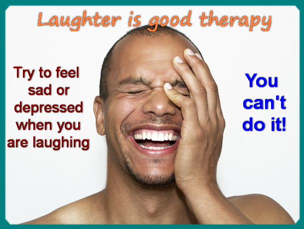 laughter is good therapy