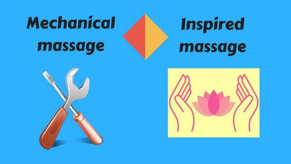 mechanical versus inspired massage