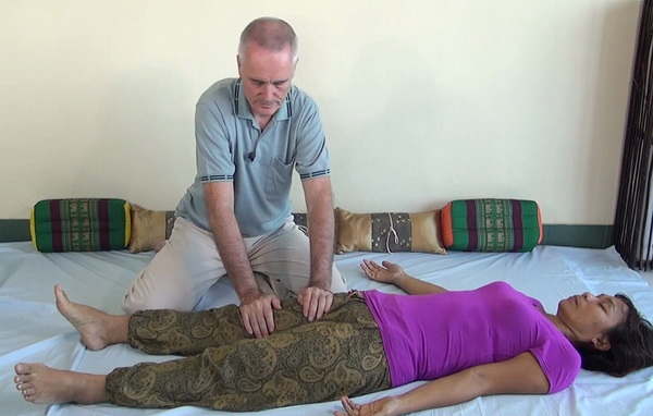Thai Massage sen line work