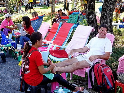 foot massage in Chiang Mai