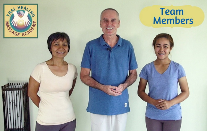 The team of Thai Healing Massage Academy