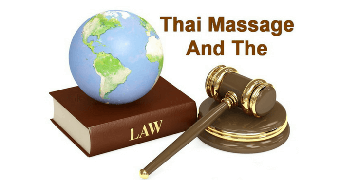 Thai Massage and the law
