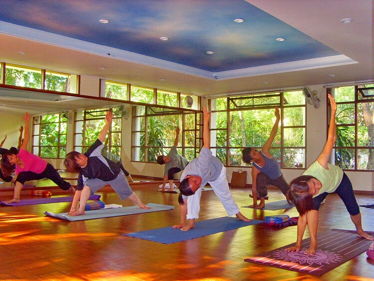 yoga school in Thailand