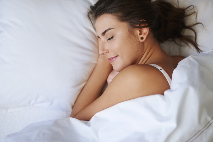Good sleep after massage therapy