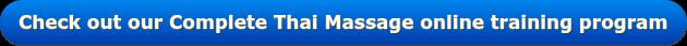 Complete Thai Massage online training course