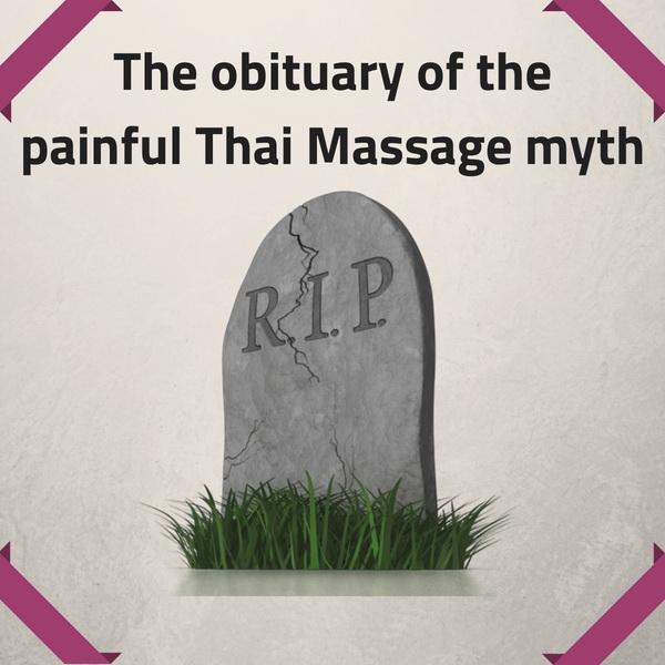 The obituary of the painful Thai Massage myth