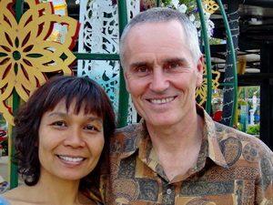 Jang and Shama Kern, Thai Massage teachers