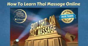 Thai Massage online training