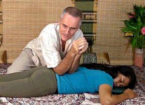 thai massage elbow technique