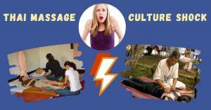 Thai Massage culture shock