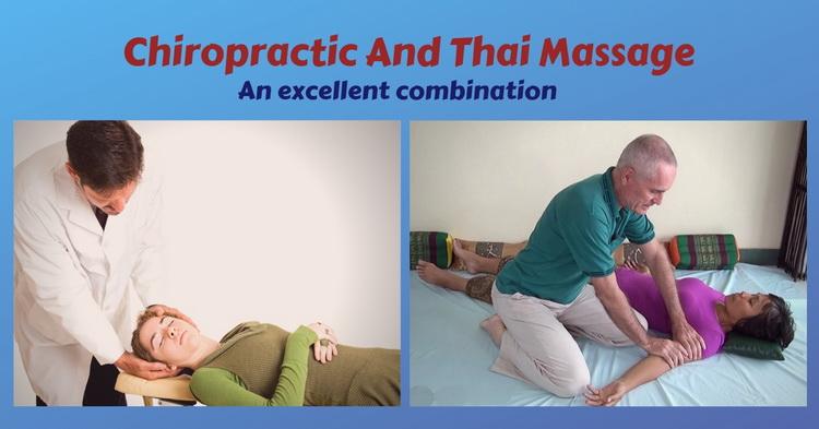 Thai Massage and chiropractic