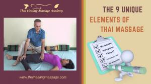 9 unique elements of thai massage
