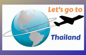 airplane to Thailand