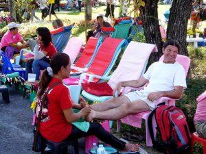 Foot massage in Thailand