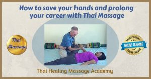 How Thai Massage can save your hands